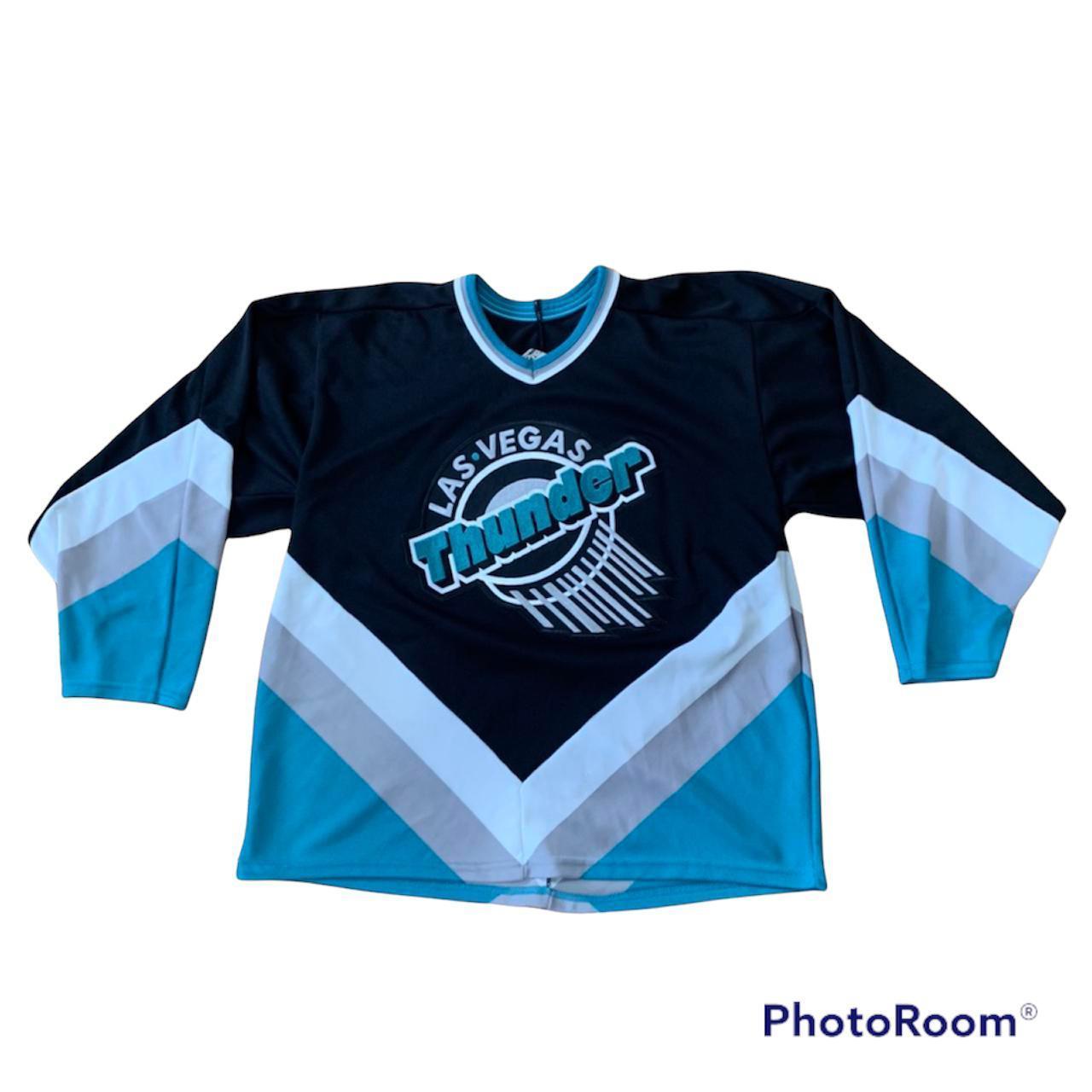 Product Image 1 - Vintage Hockey Jersey Las Vegas thunder Size