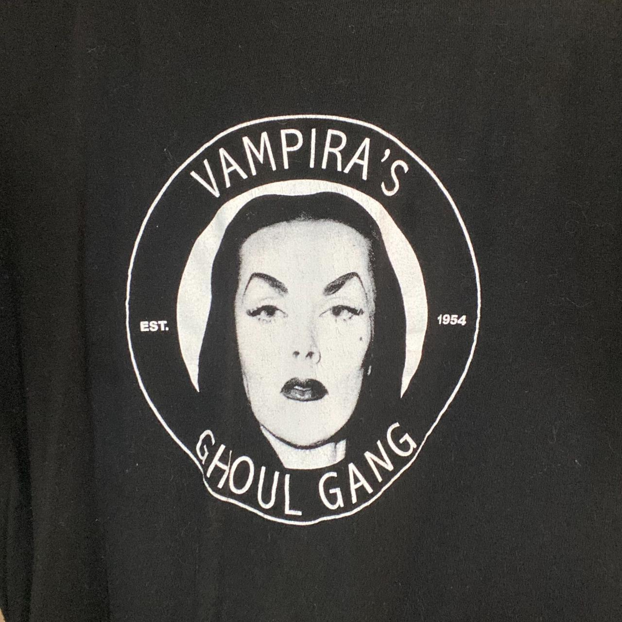 Product Image 1 - Vampira's Ghoul Gang t-shirt, unisex