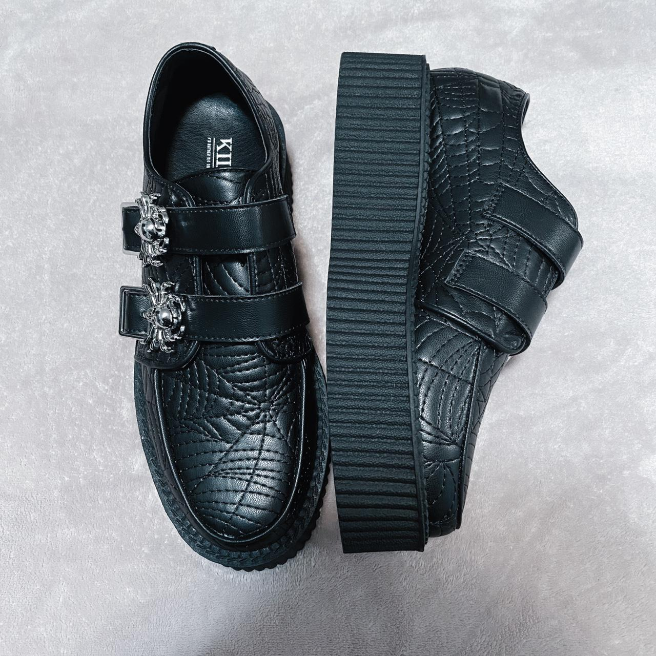 Product Image 1 - Killstar creepers with spiderweb stitching
