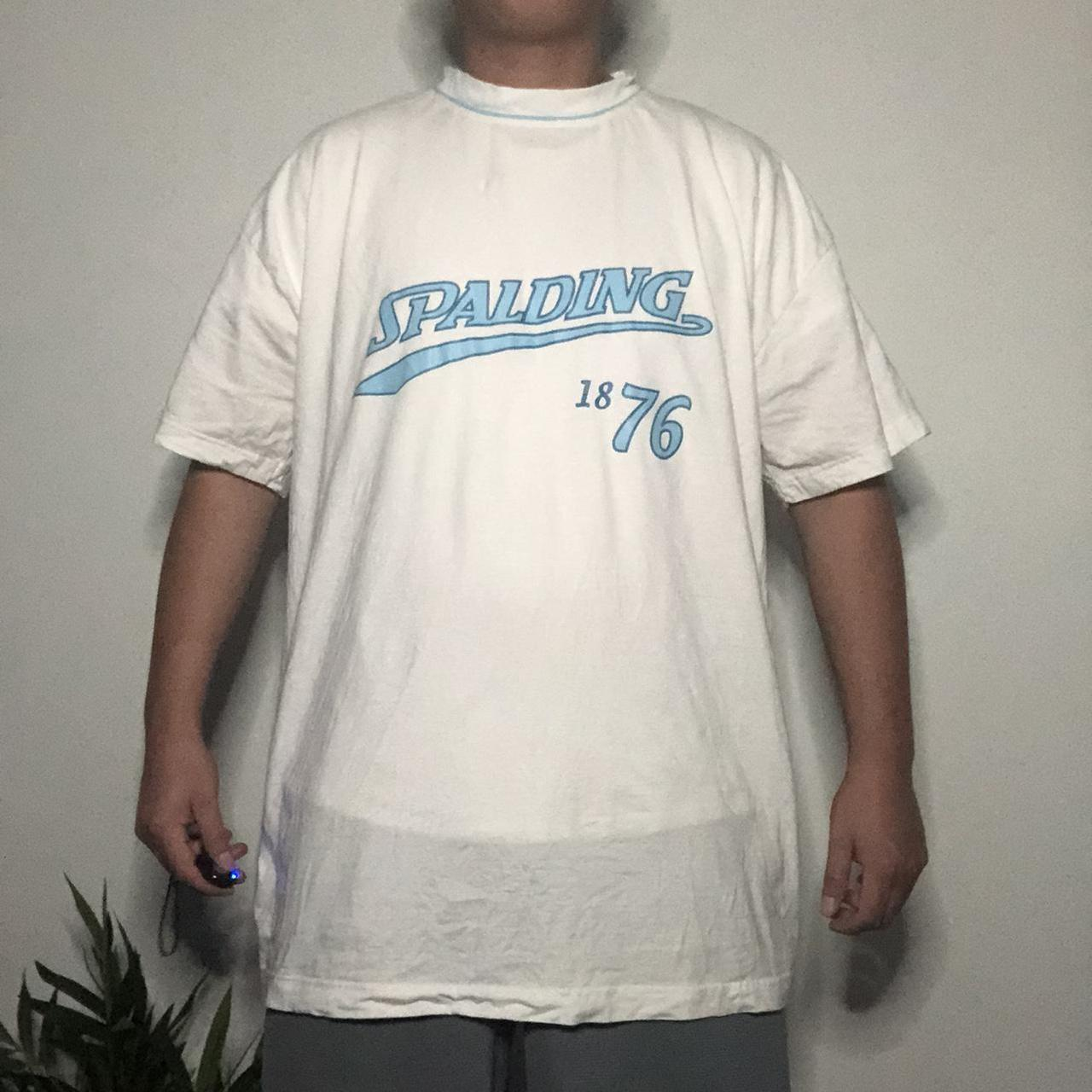 Product Image 1 - Vintage Spalding T-shirt 🏀🔥 Condition: 8.5/10