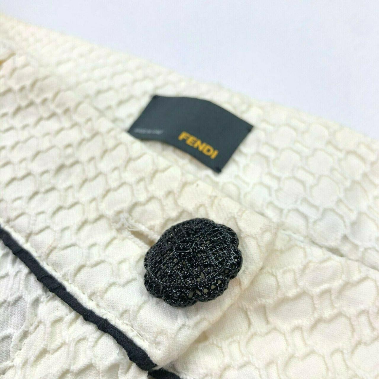 Product Image 1 - Fendi Women's Embroidered Jacquard Trellis
