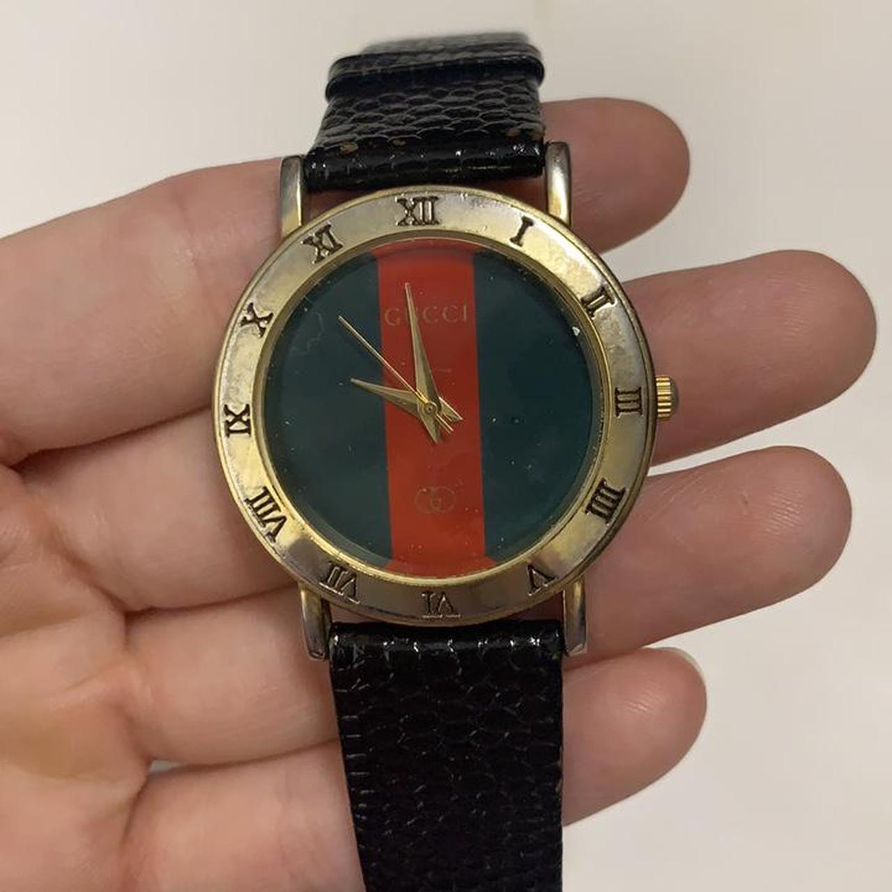 Product Image 1 - Vintage Gucci Genuine Leather Striped