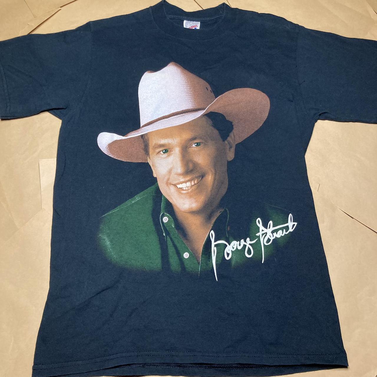 Product Image 1 - 1998 George Strait Concert T-Shirt  Pit