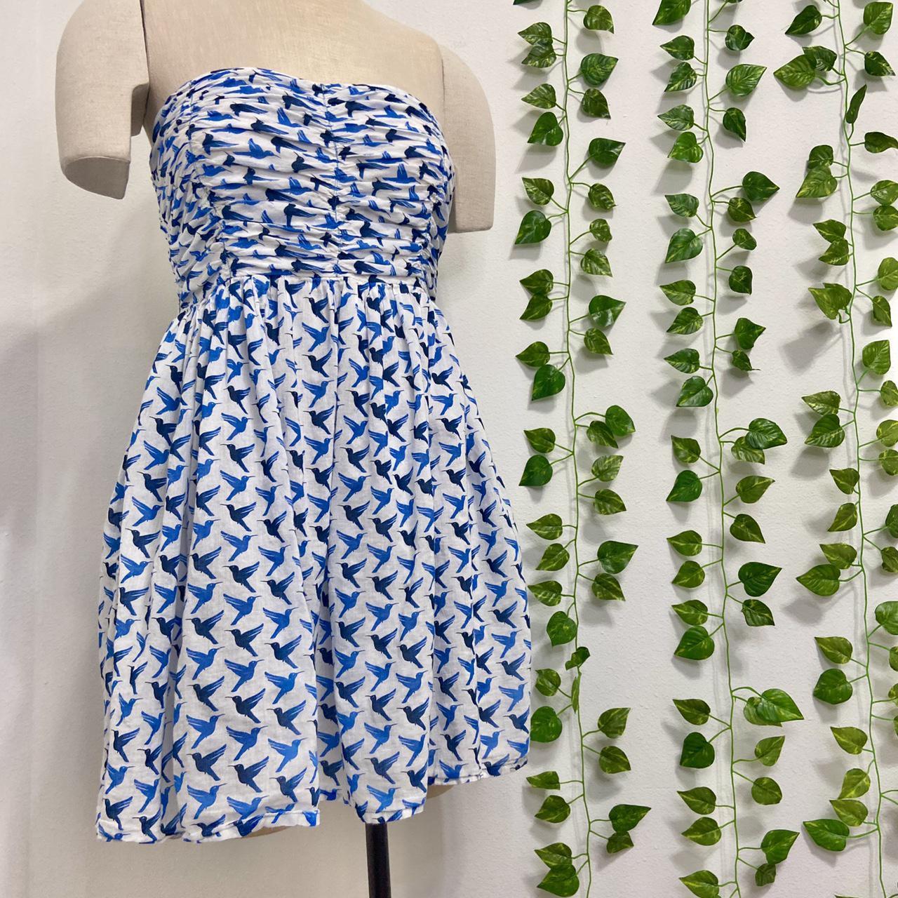 Product Image 1 - Zara TRF Blue Birds Strapless