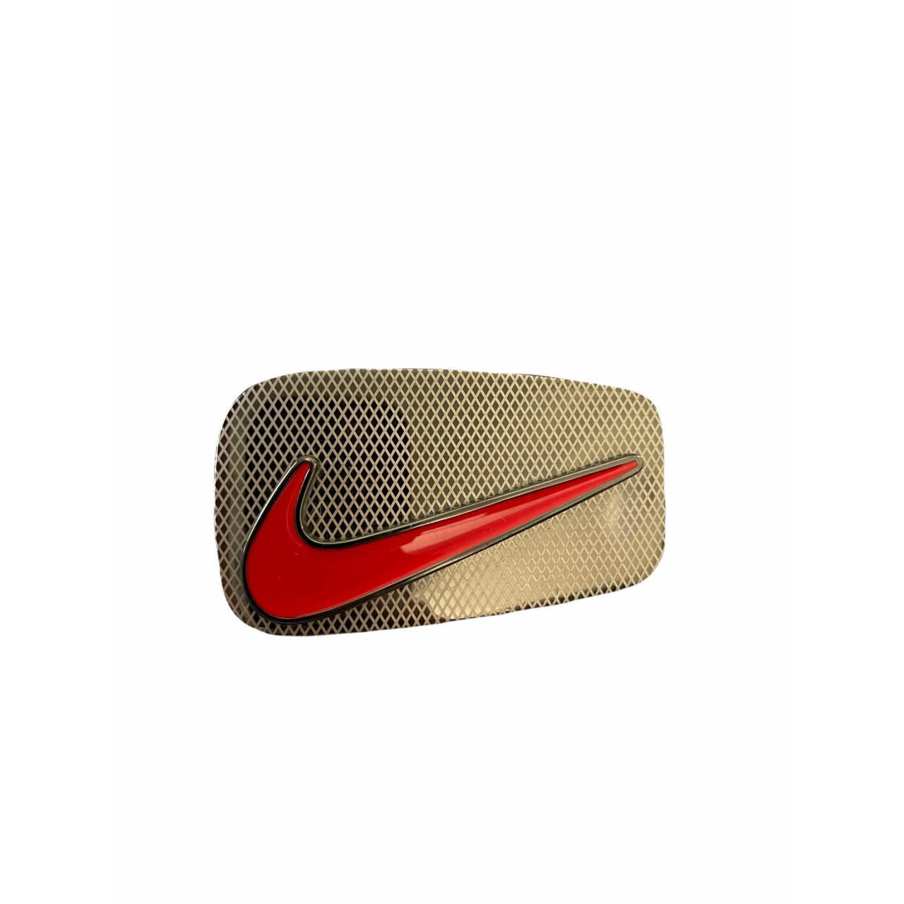 "Product Image 1 - Nike Red Swoosh 1.5"" Belt"