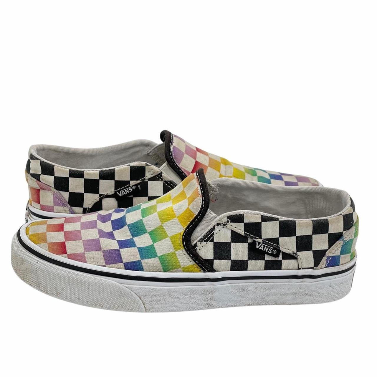 Product Image 1 - Vans Slip On Rainbow Checkerboard