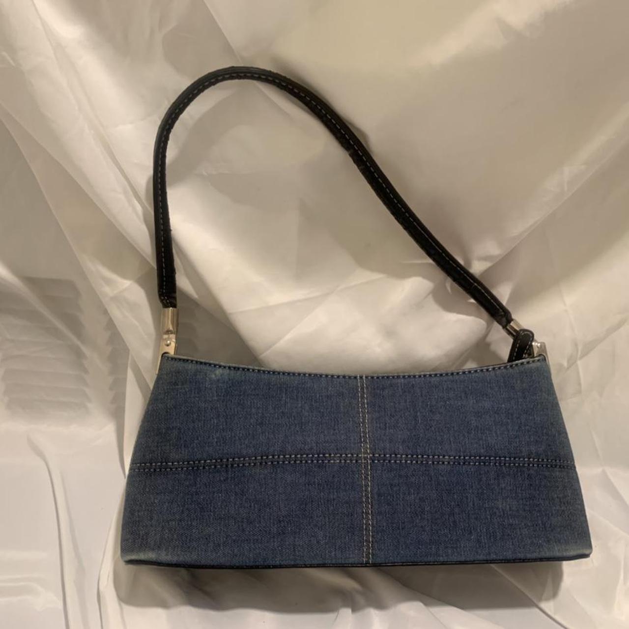 Product Image 1 - denim mini baguette bag straps are