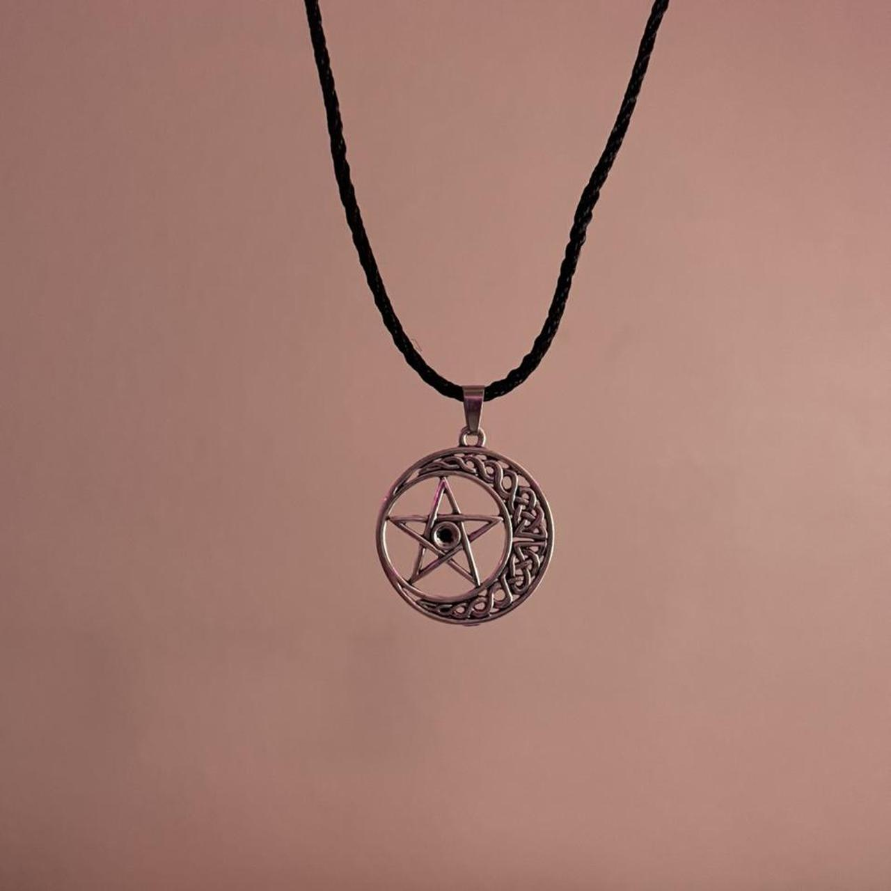 Product Image 1 - Star inside Celtic moon necklace Bought