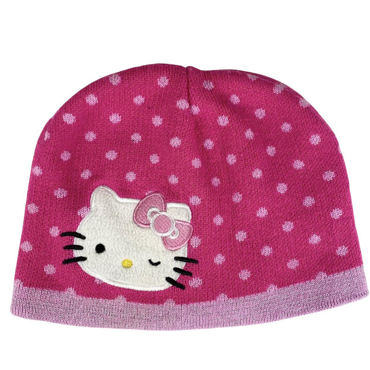 Product Image 1 - 🐱Polkadot Kitty beanie🐱 Pink Hello Kitty