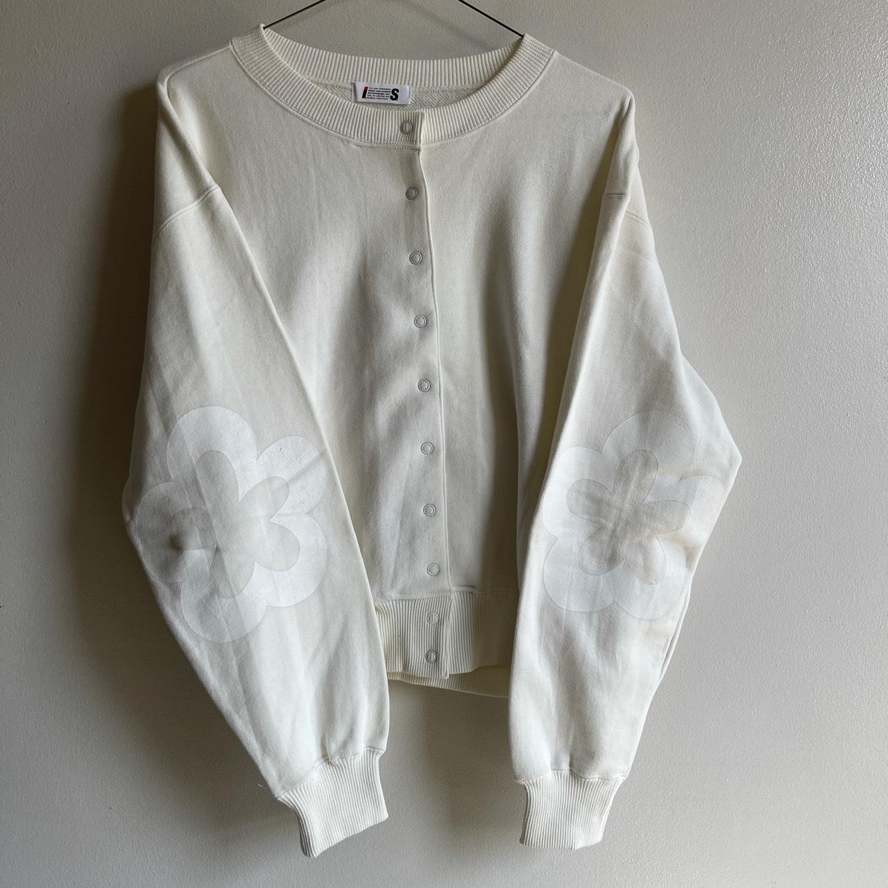 Product Image 1 - Issey Miyake White Floral Sweatsuit