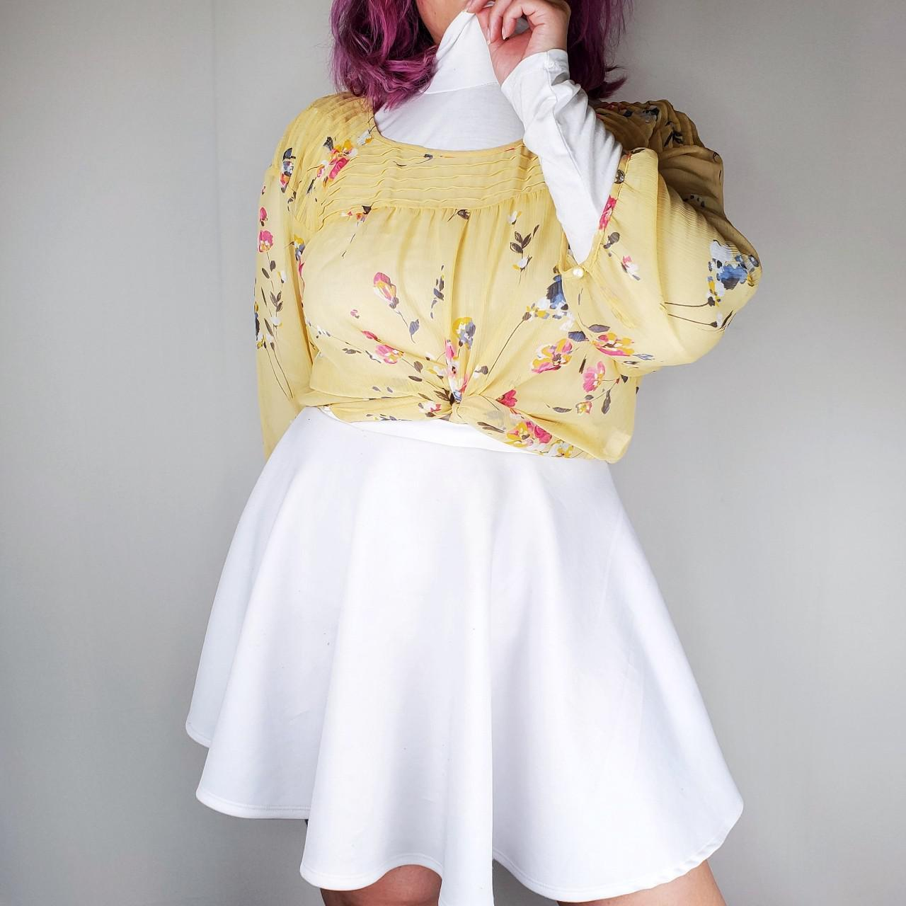Product Image 1 - Sheer Floral Blouse   Floral