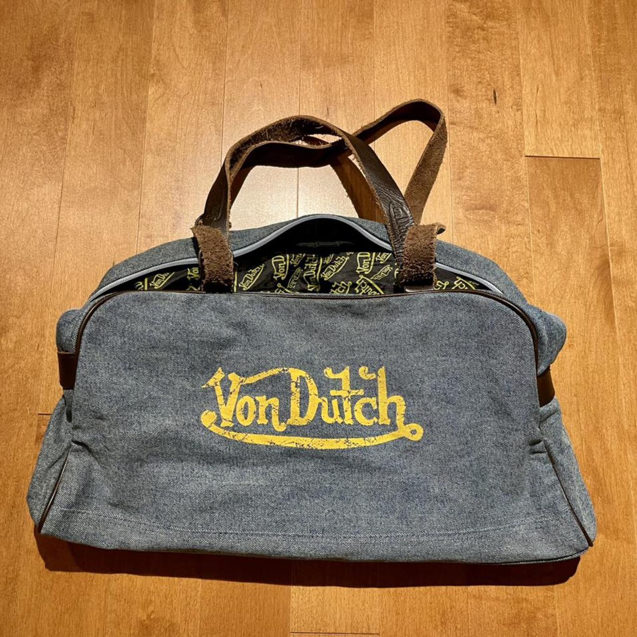 Product Image 1 - VON DUTCH denim bag in