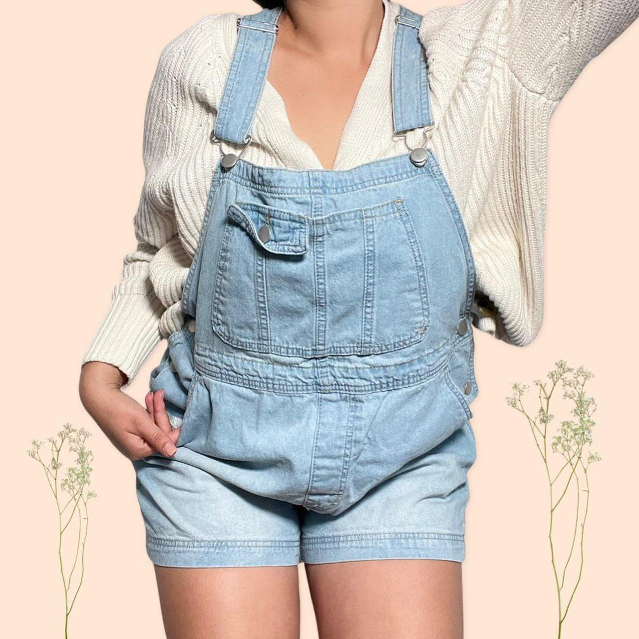 Product Image 1 - Denim overalls • Denim shorts