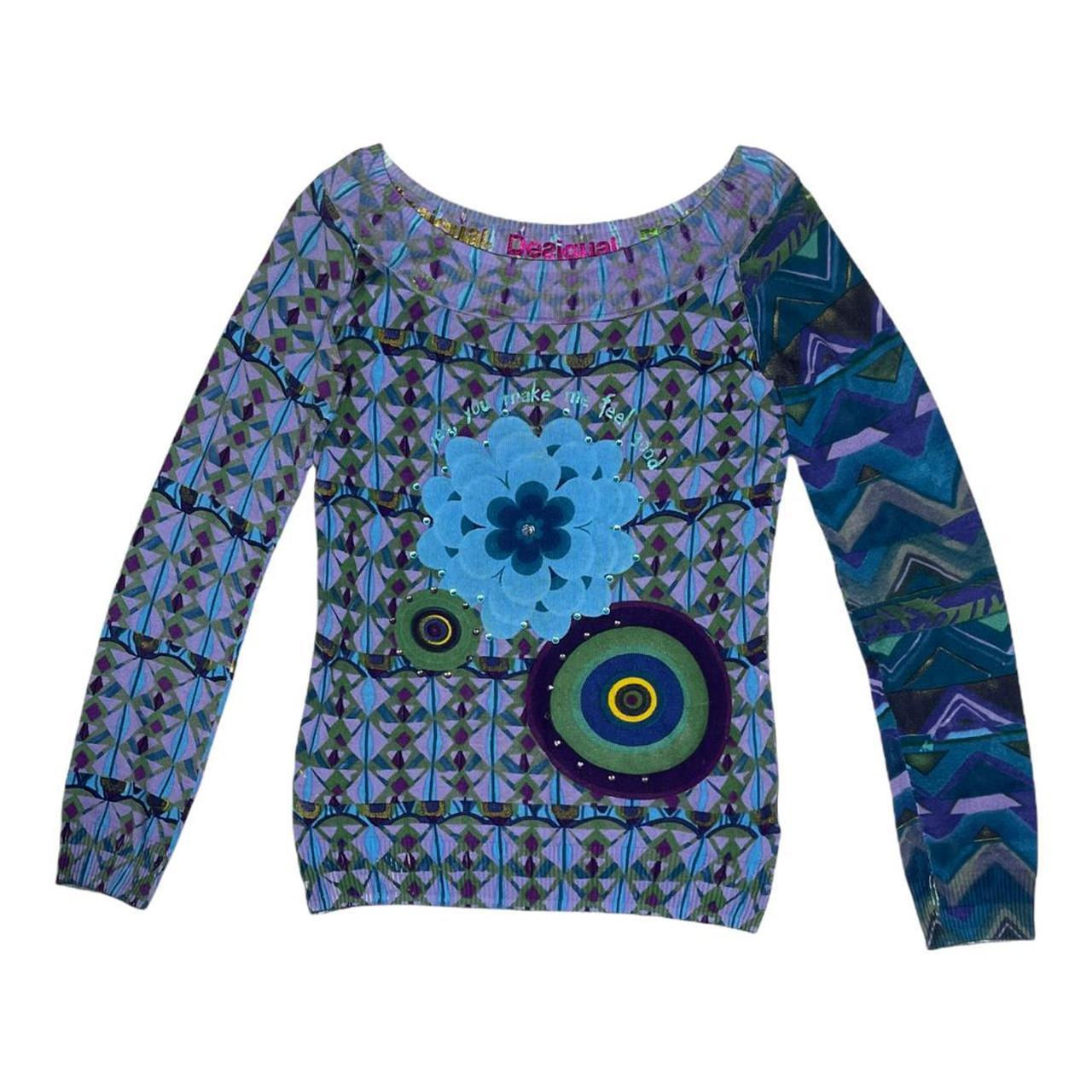 Product Image 1 - Unique graphic print sweater. Big
