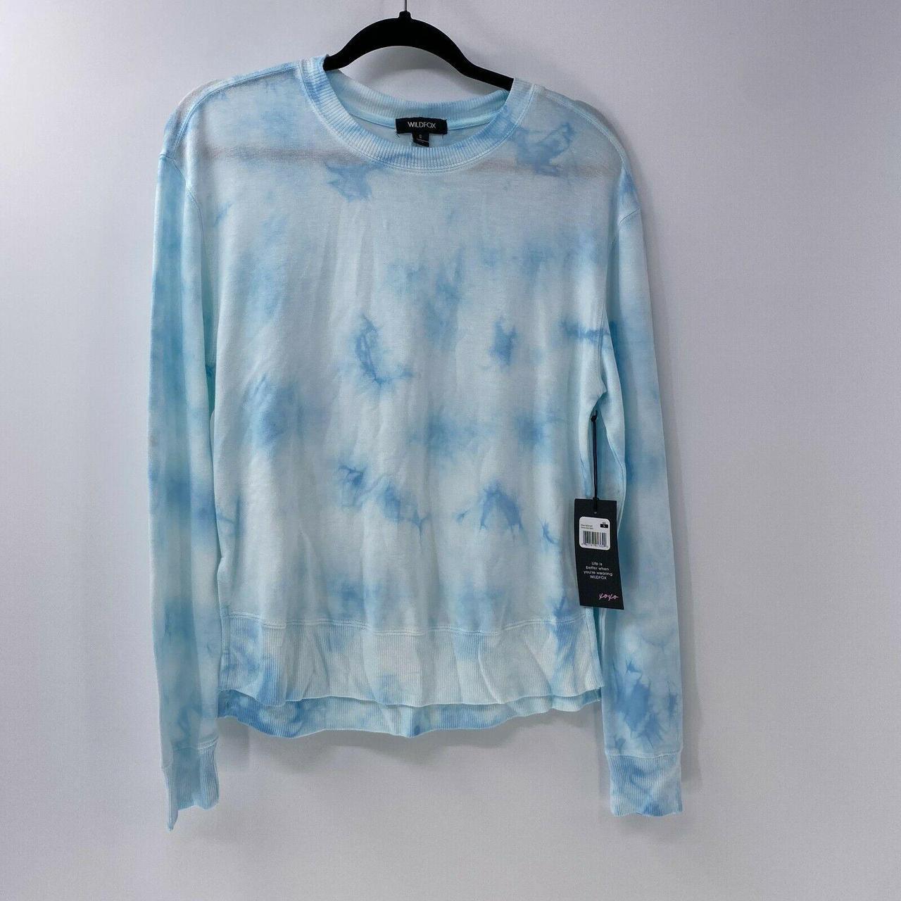 Product Image 1 - Wildfox Sweatshirt Crystal Blue tie