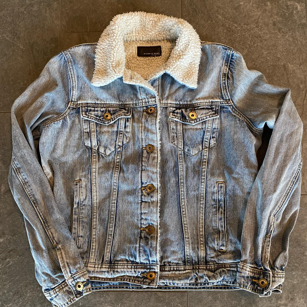 Product Image 1 - Articles of Society denim Sherpa