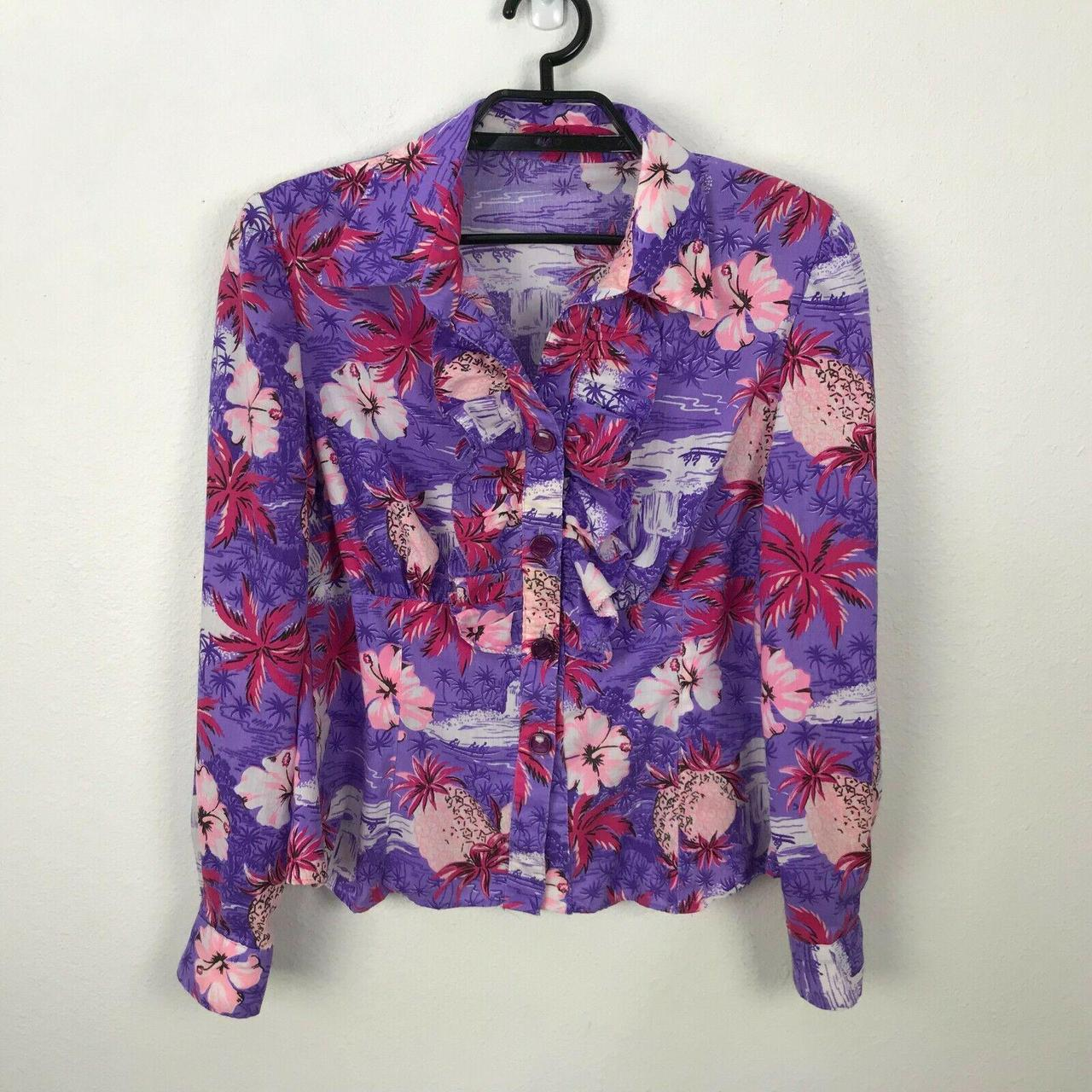 Product Image 1 - Vintage Hawaiian Shirt Size M