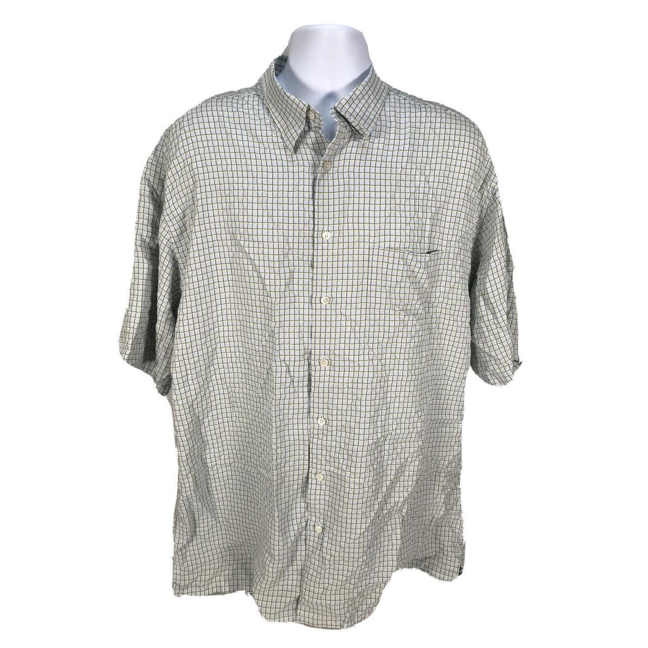 Product Image 1 - Bugatchi Men's Blue/Yellow Check Short