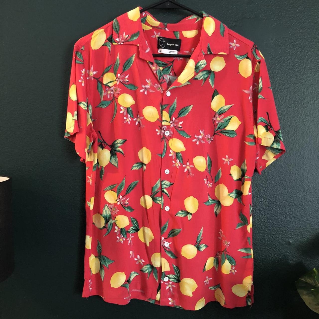 Product Image 1 - Original Use Lemon patterned button