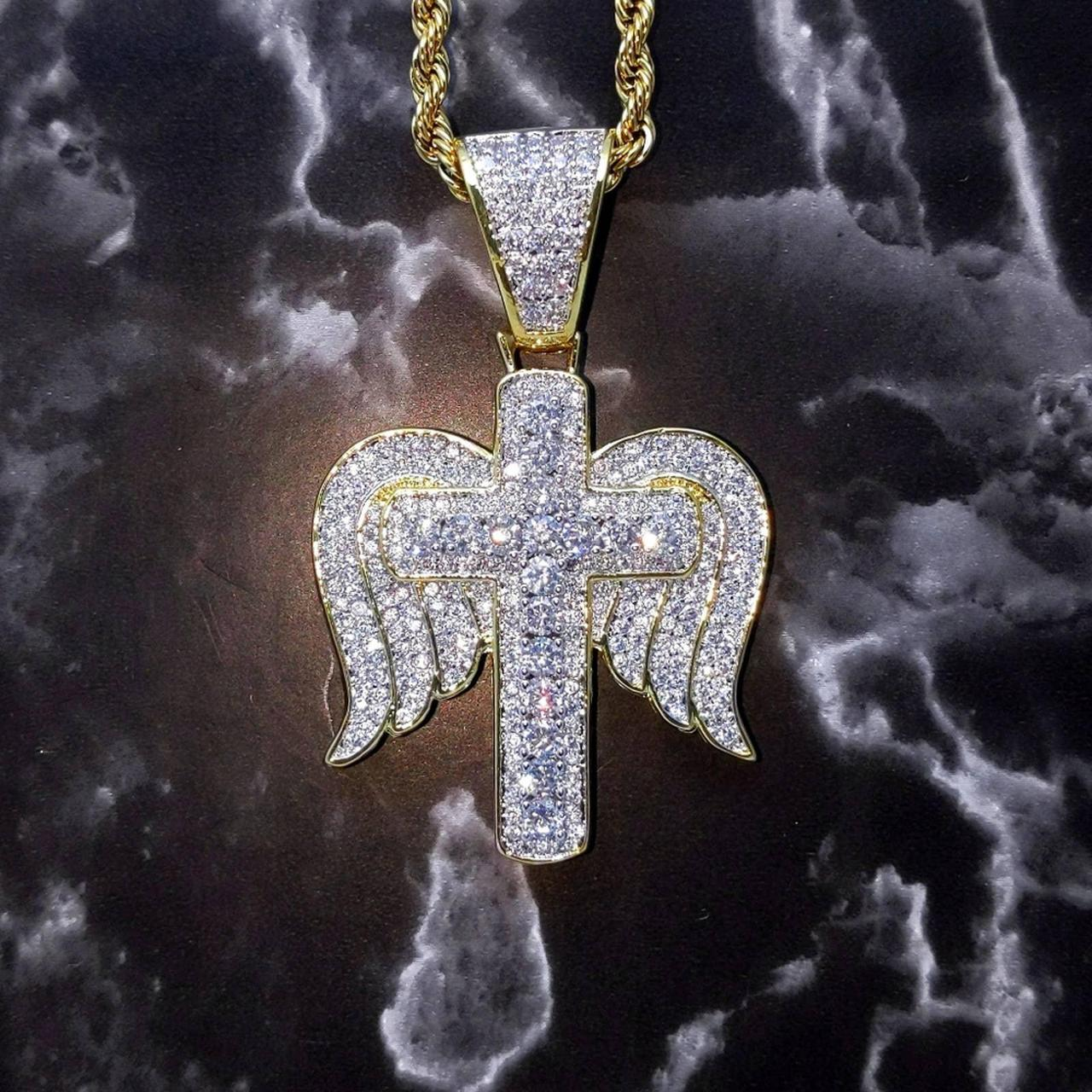 Product Image 1 - New Icy Bi-Color Angel Cross