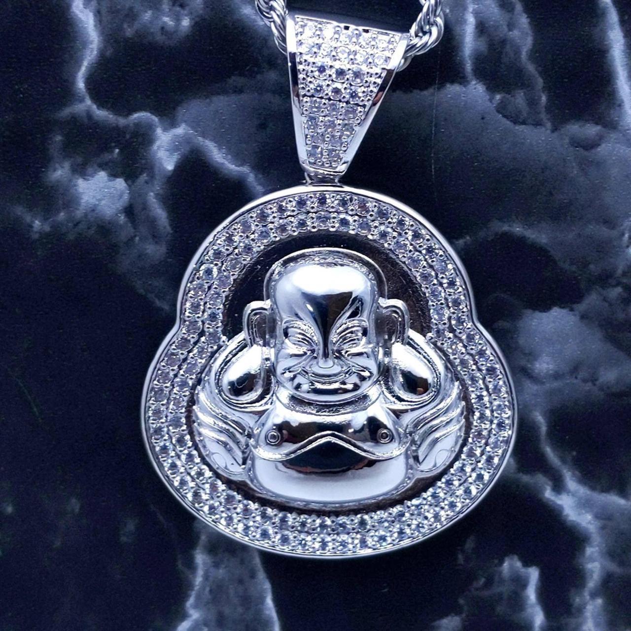Product Image 1 - New Icy Silver Finish Buddha