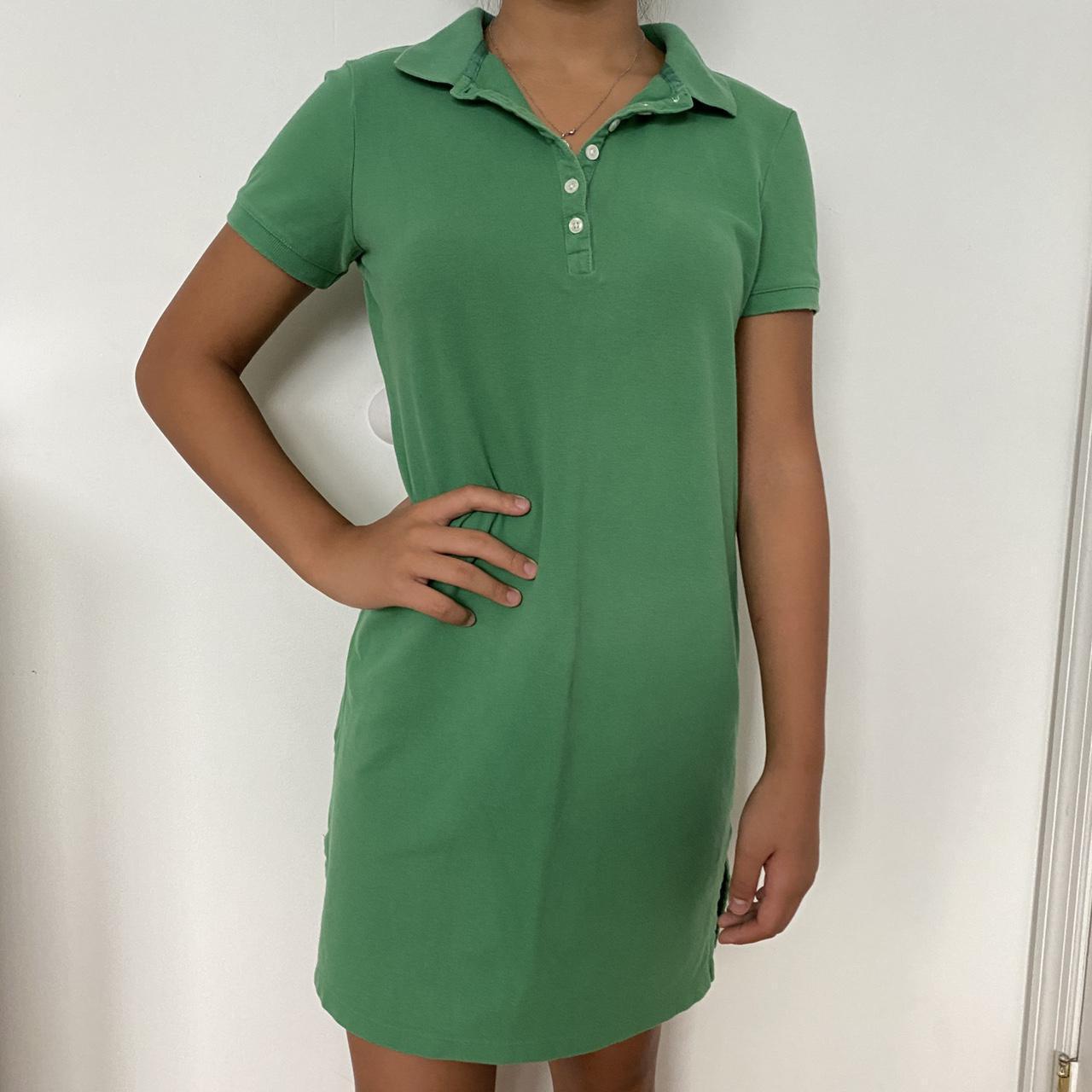Product Image 1 - BASS GREEN T-SHIRT DRESS- super