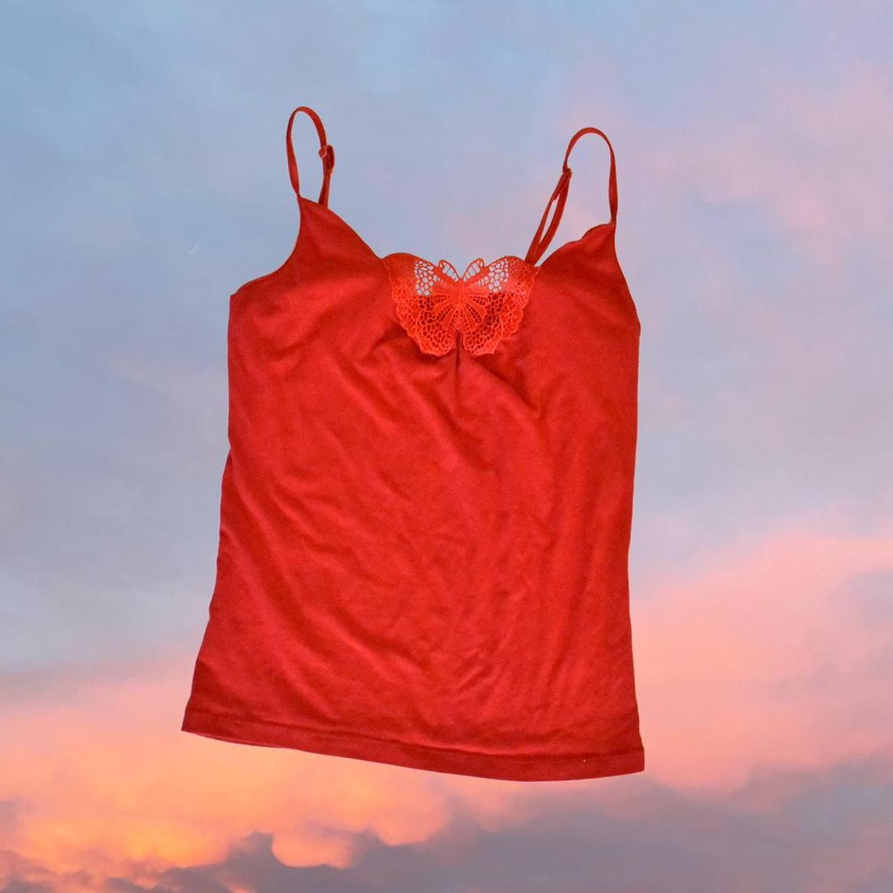 Product Image 1 - Red butterfly Deb tank top