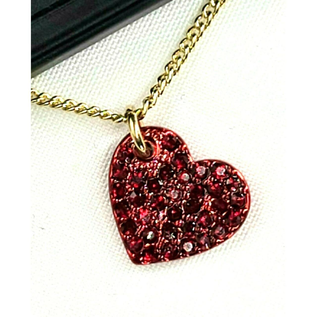 Product Image 1 - DNKY, Pavé Red Heart Pendant