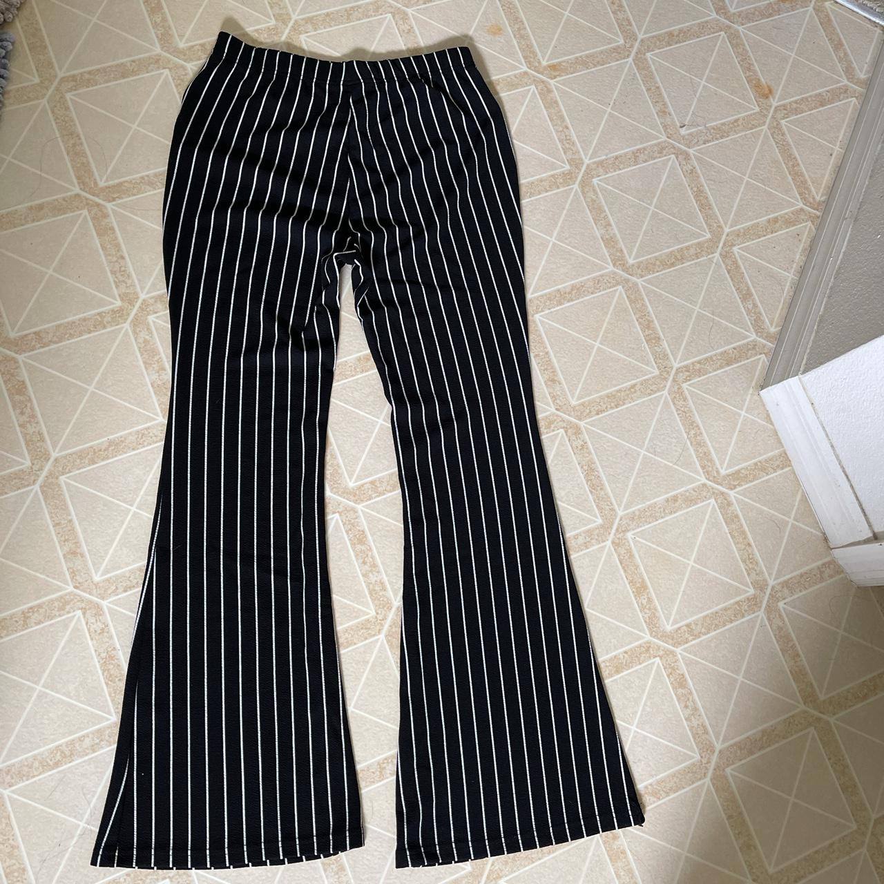 Product Image 1 - Vertical striped boot cut/bell bottom