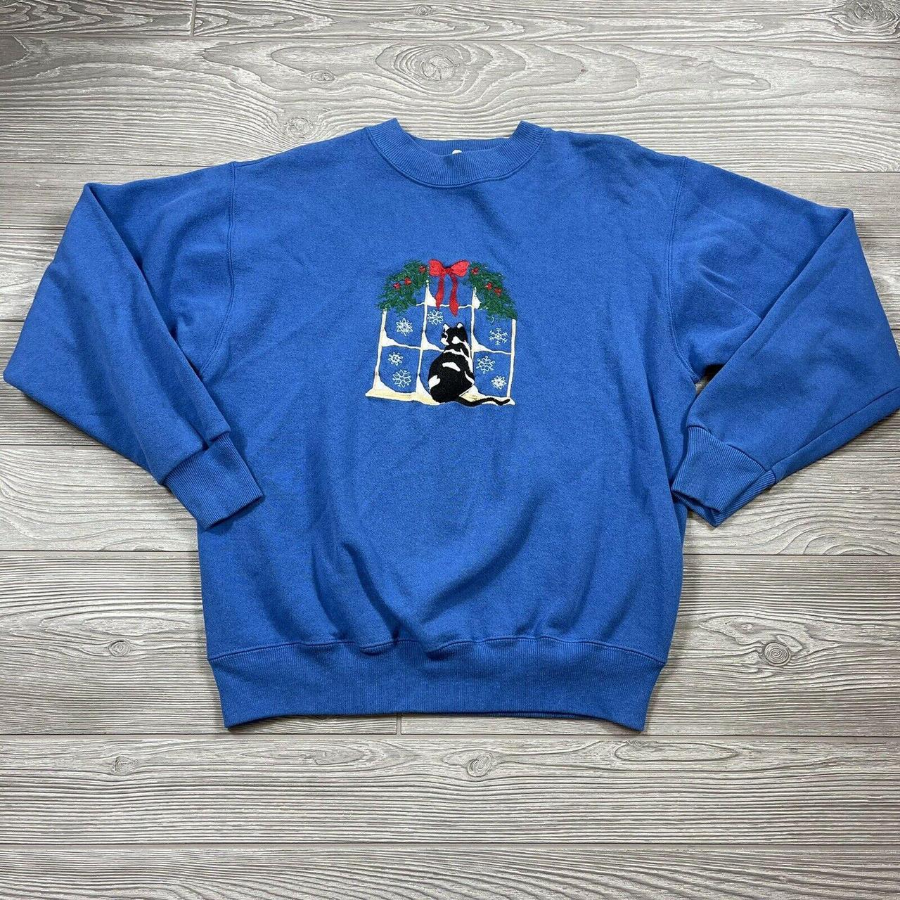 Product Image 1 - Vintage Kitty Cat Sweatshirt Womens