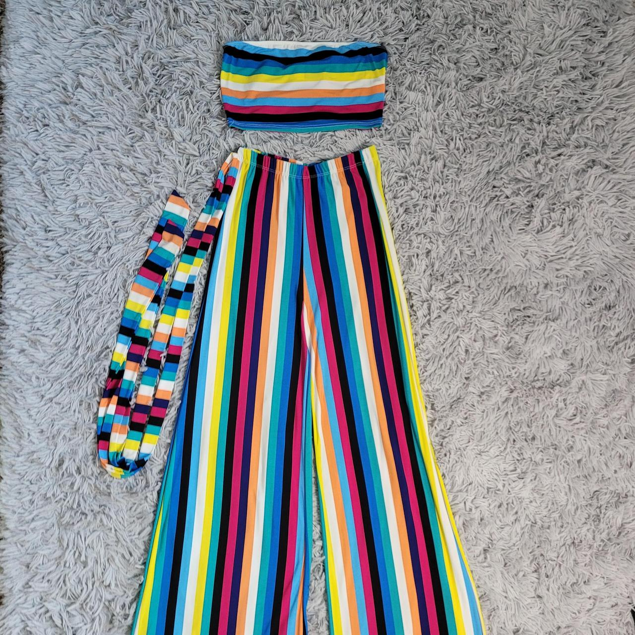 Product Image 1 - Stripe Bandeau Top  High waist