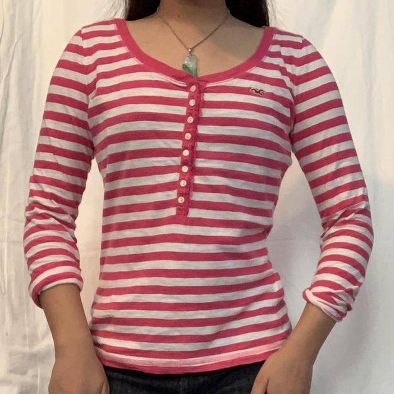 Product Image 1 - 2000s y2k henley long sleeve