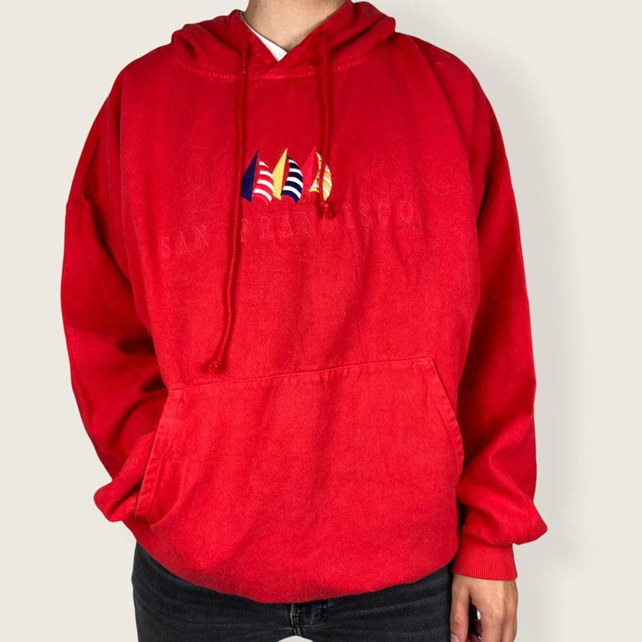 Product Image 1 - Vintage red hoodie ❤️  The comfiest