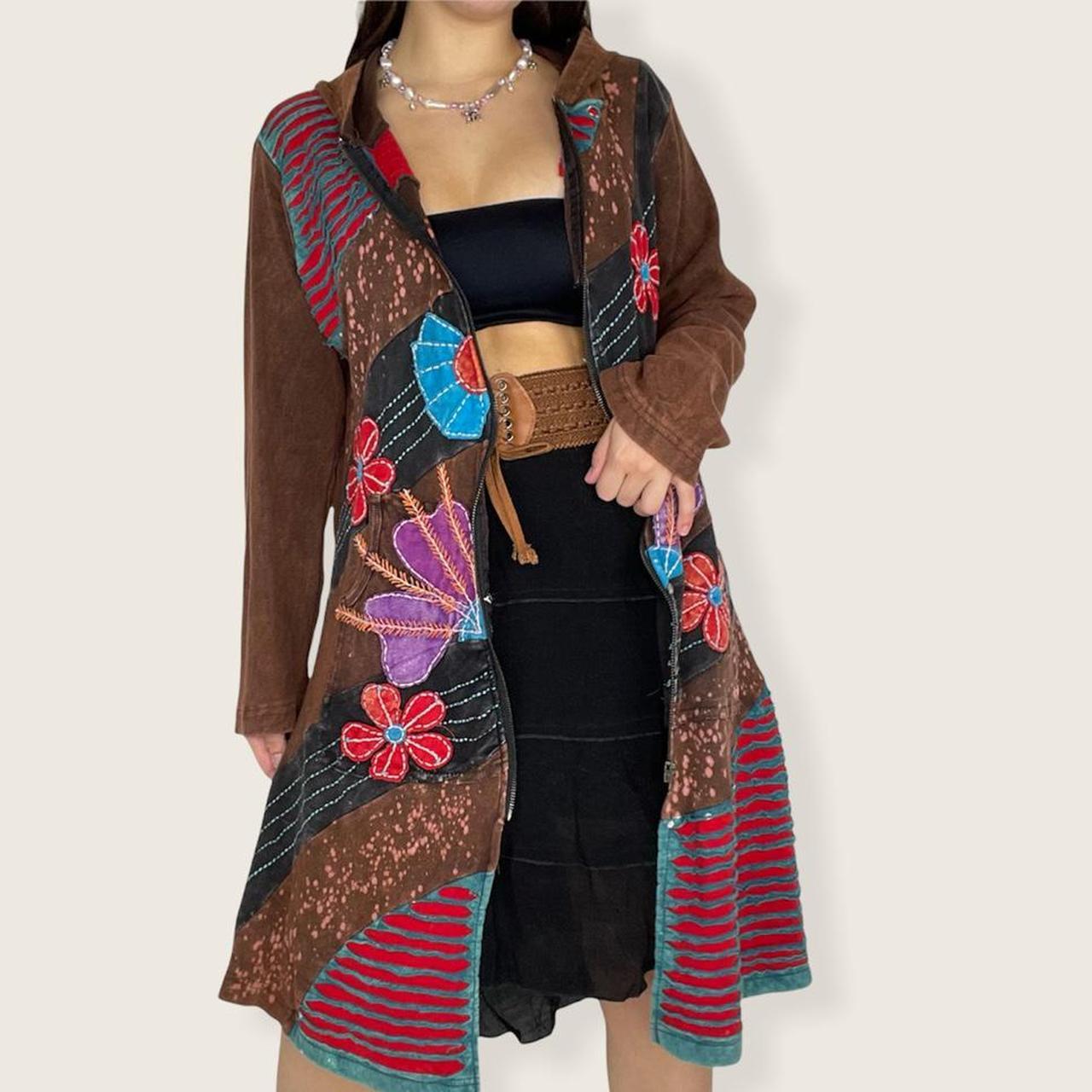 Product Image 1 - Fairycore jacket 🍃  Boho patchwork jacket