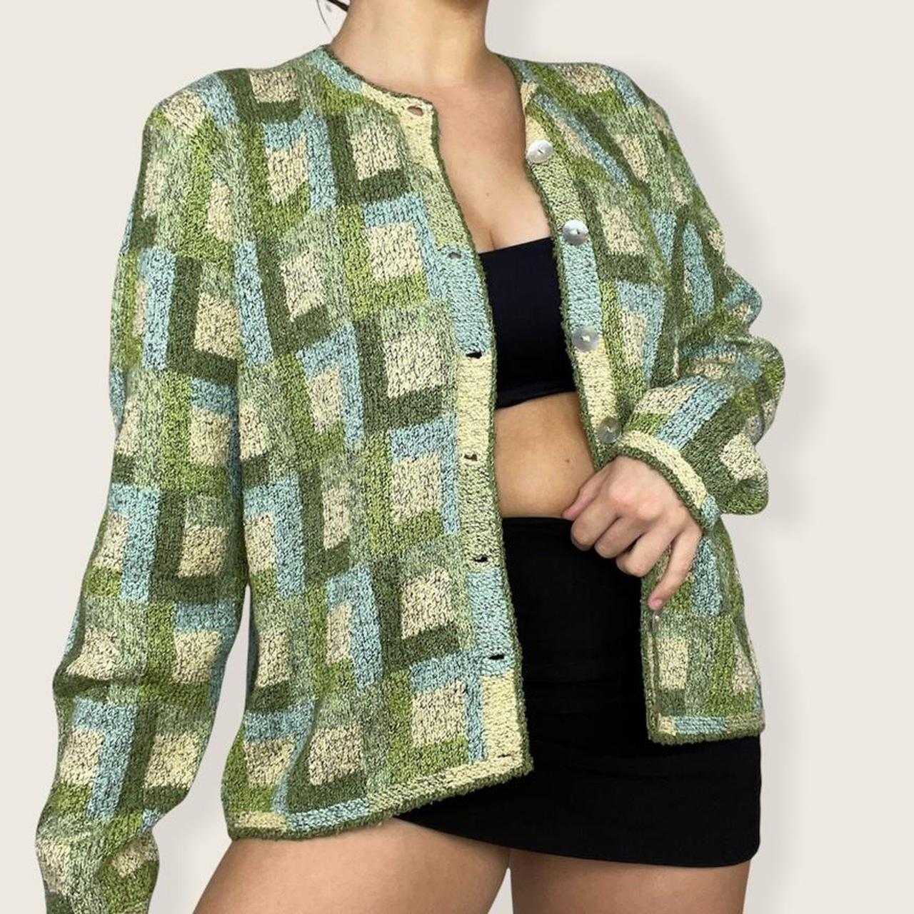 Product Image 1 - Chunky knit cardigan 🌱  This knit