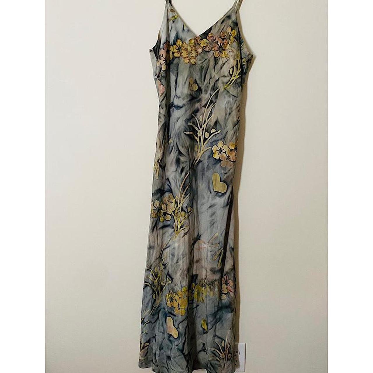 Product Image 1 - Tropical Tantrum Grey Floral Dress ⚪️🔴FREE