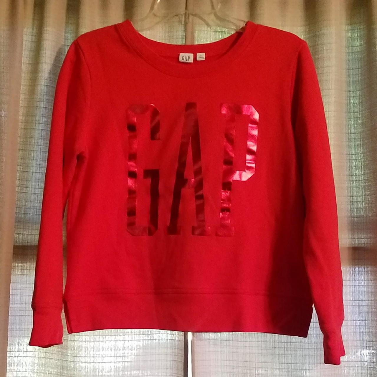 Product Image 1 - Gap women's crew neck sweatshirt.