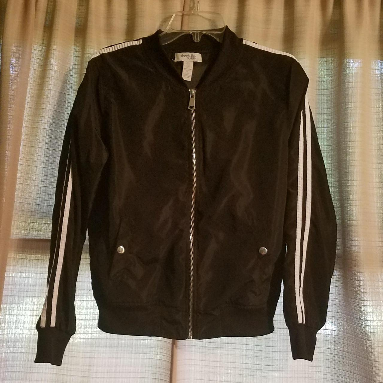 Product Image 1 - Charlotte Russe black bomber jacket.