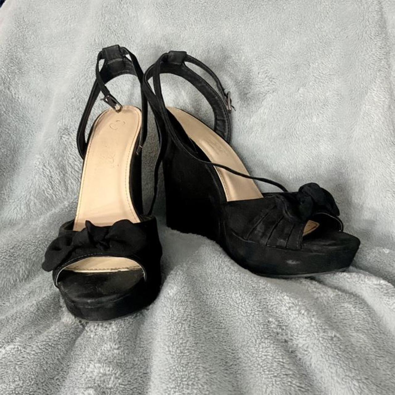 Product Image 1 - elegant footwear, black bow heels
