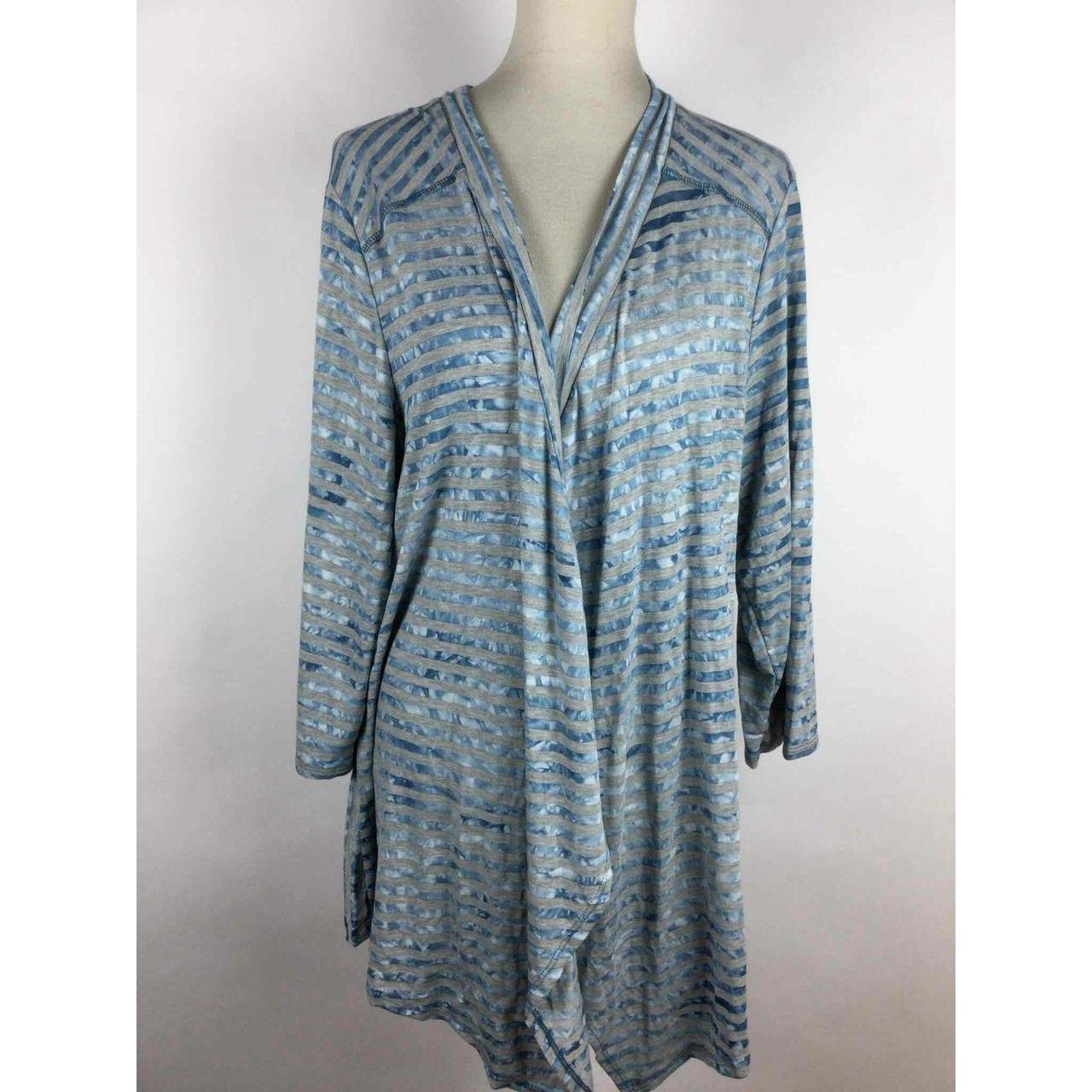 Product Image 1 - NWT Avenue Blue Gray Striped