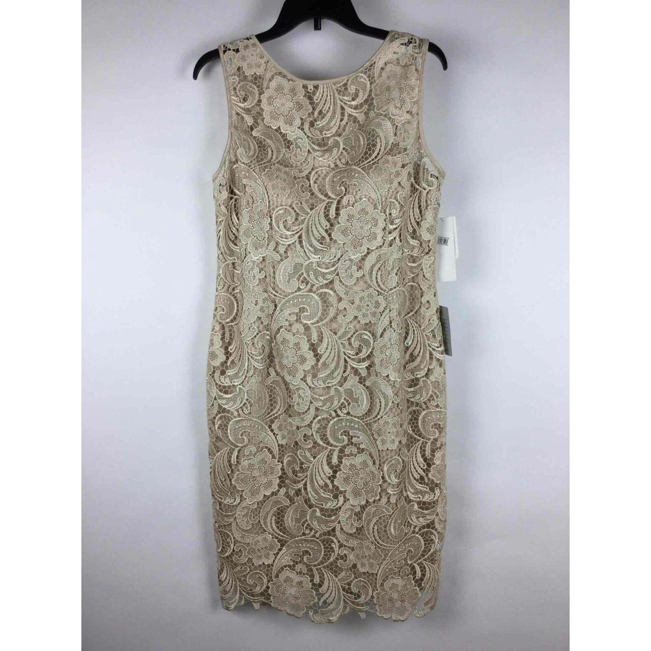 Product Image 1 - NWT Adrianna Papell Champagne Sleeveless