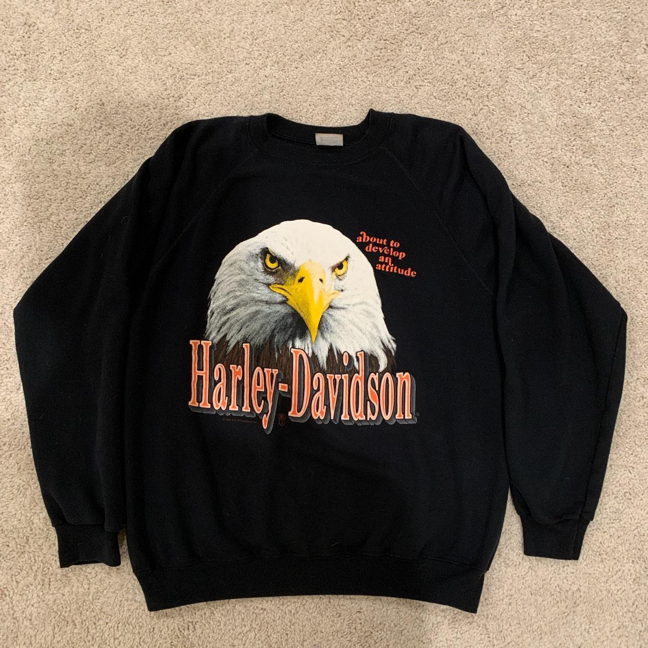 Product Image 1 - Vintage 90s 1990 Harley Davidson
