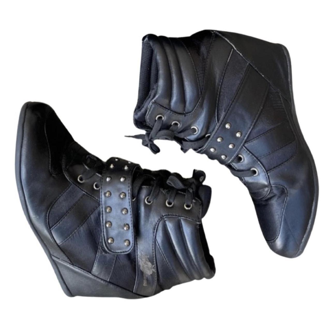 Product Image 1 - Black Apple Bottom Sneaker Wedge  Edgy