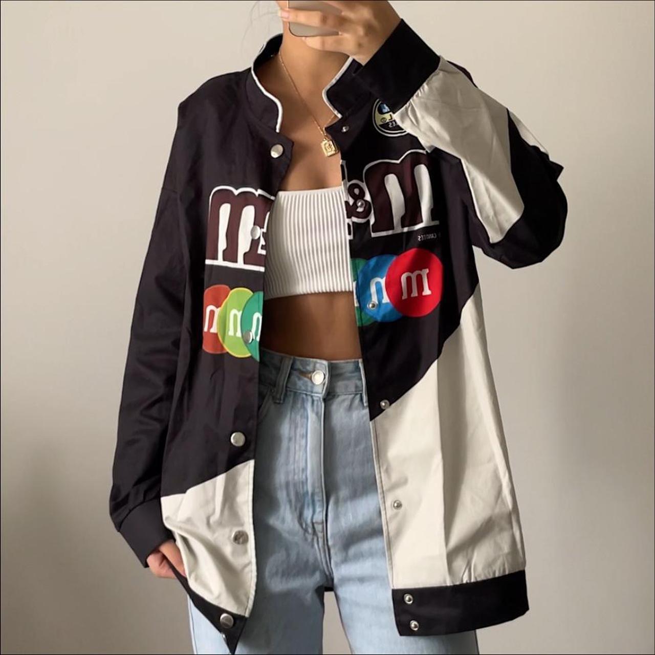 Product Image 1 - M&M bomber/ racer style jacket.
