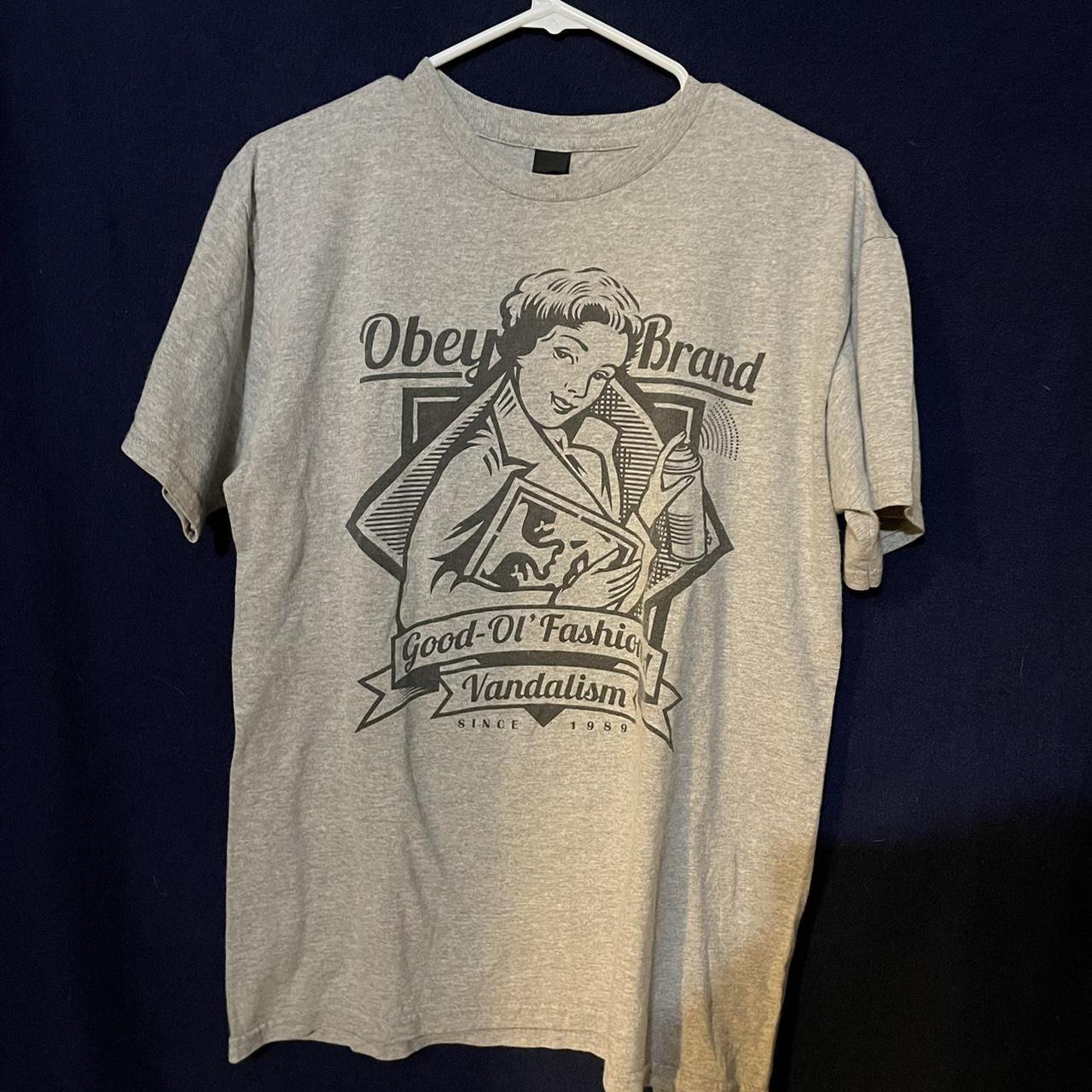 "Product Image 1 - Obey ""good ol fashion vandalism"""