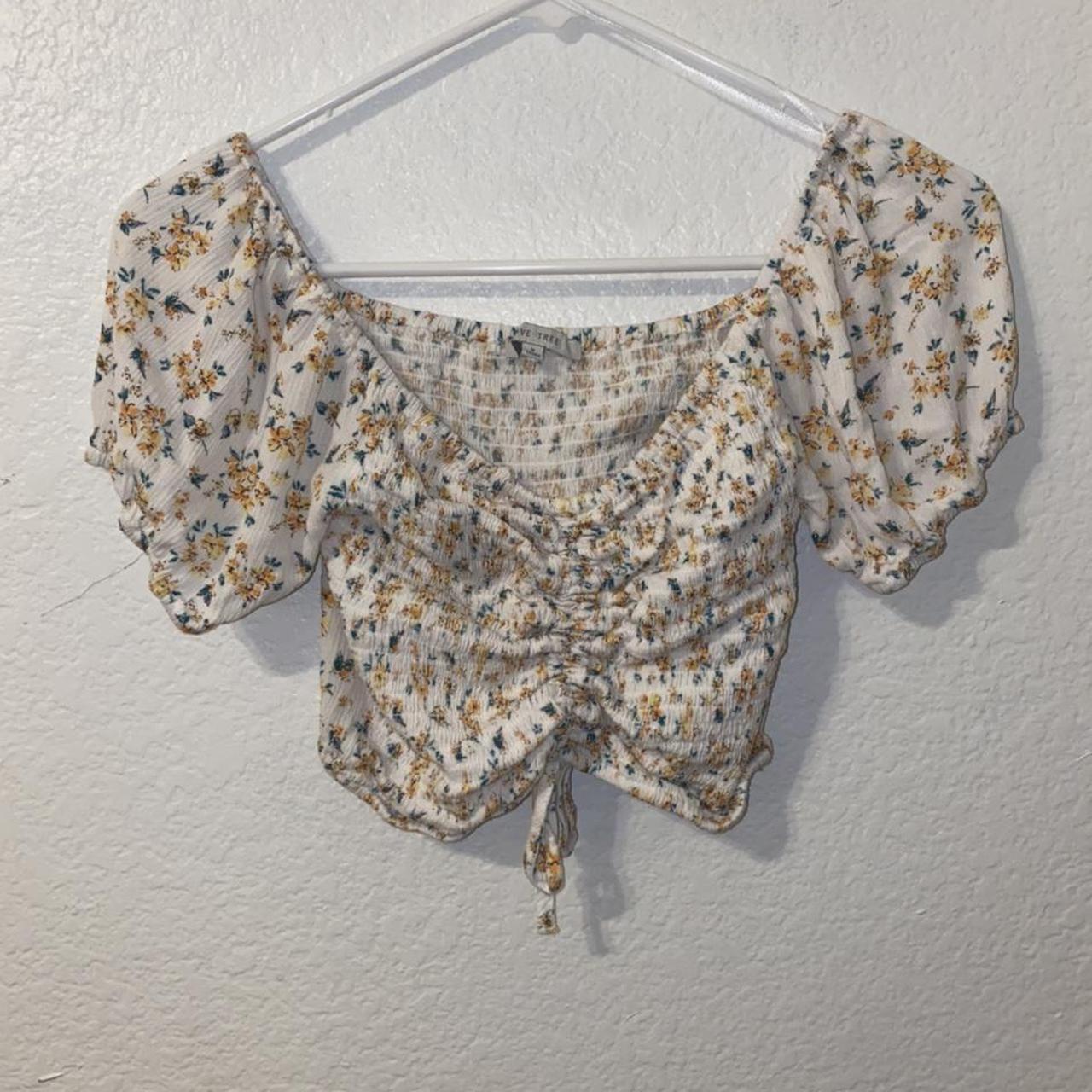 Product Image 1 - White Flower shirt
