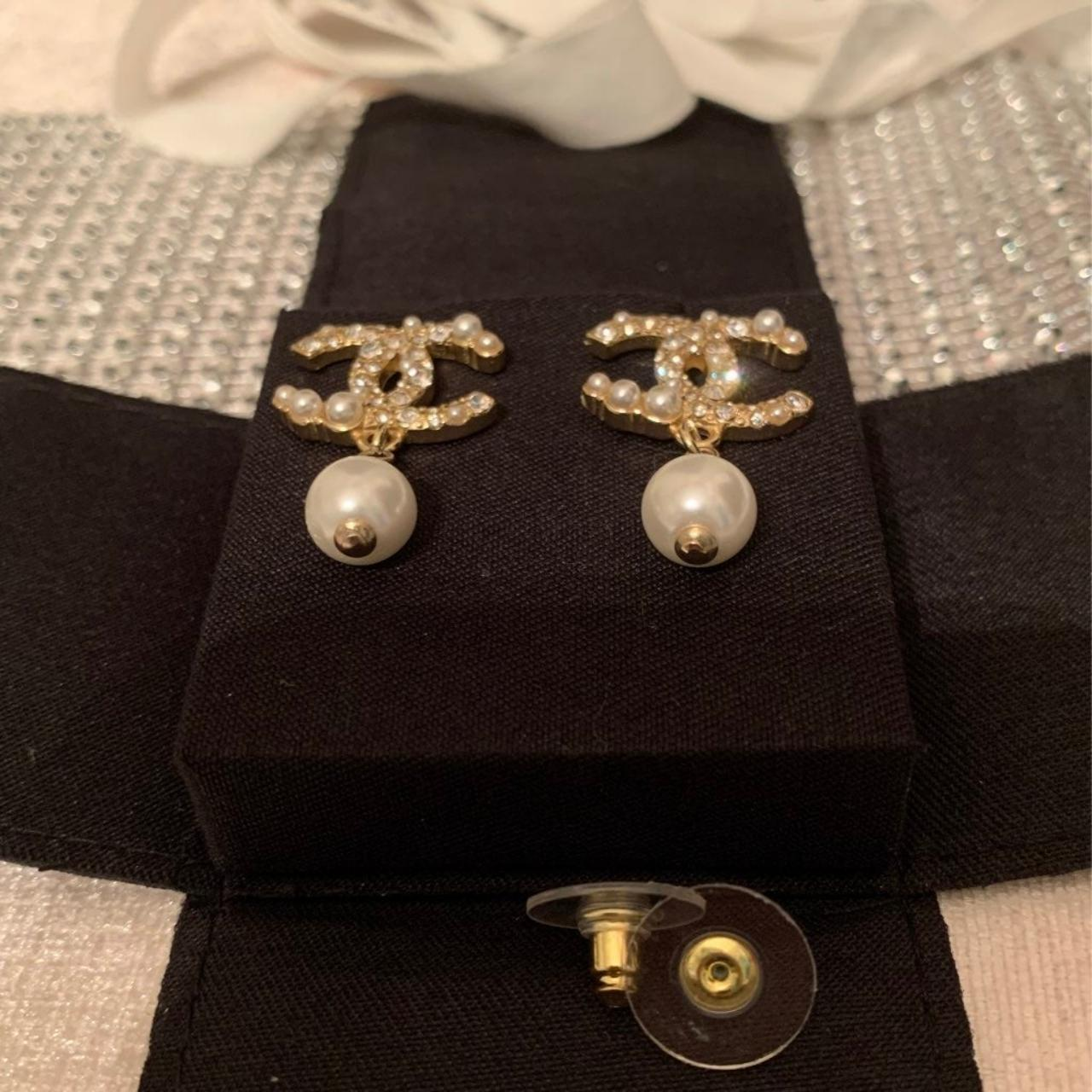 Product Image 1 - Authentic Chanel Pearl Drop Earrings