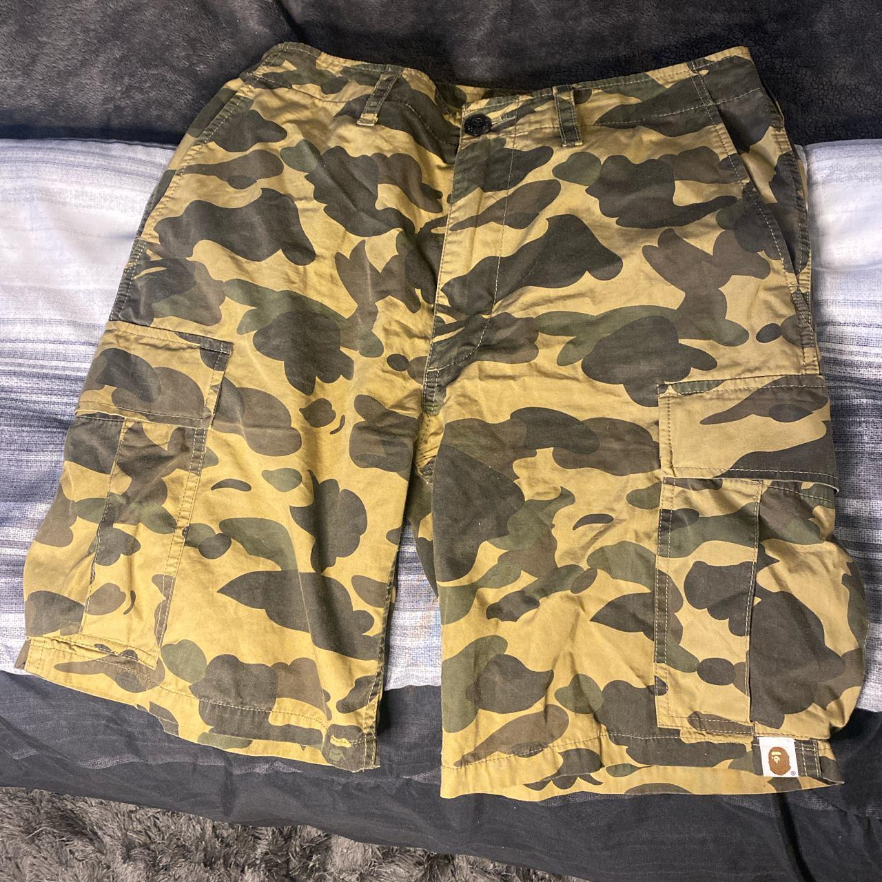 Product Image 1 - Original Camouflaged bape shorts size small