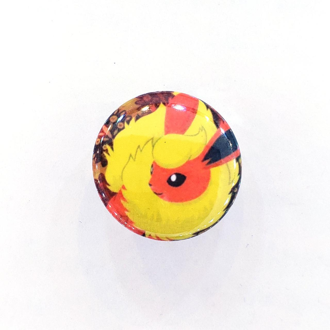 Product Image 1 - Flareon Pokémon Collet Back Pin