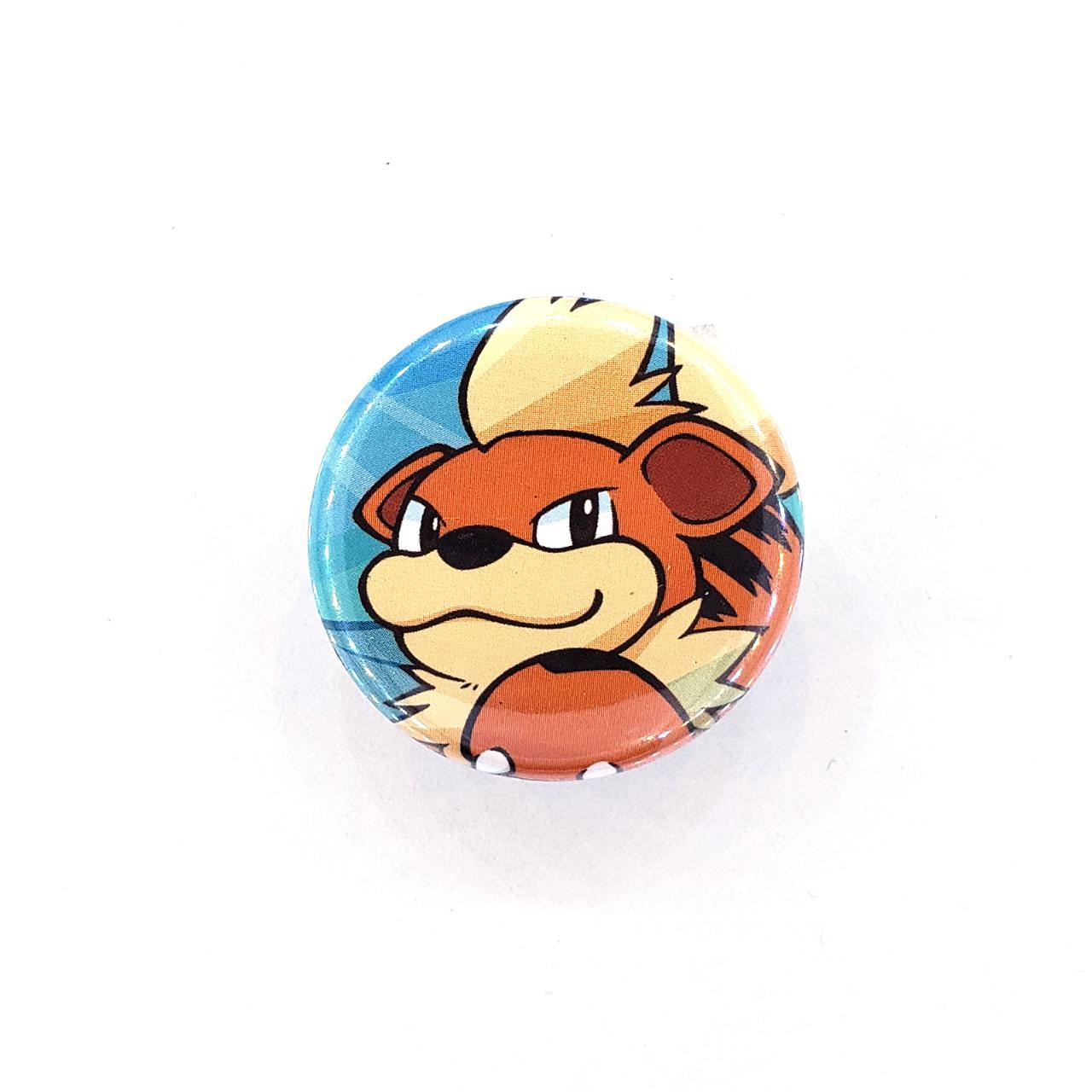 Product Image 1 - Growlithe Pokémon Collet Back Pin